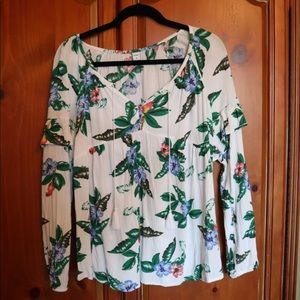 Old Navy tropical floral top